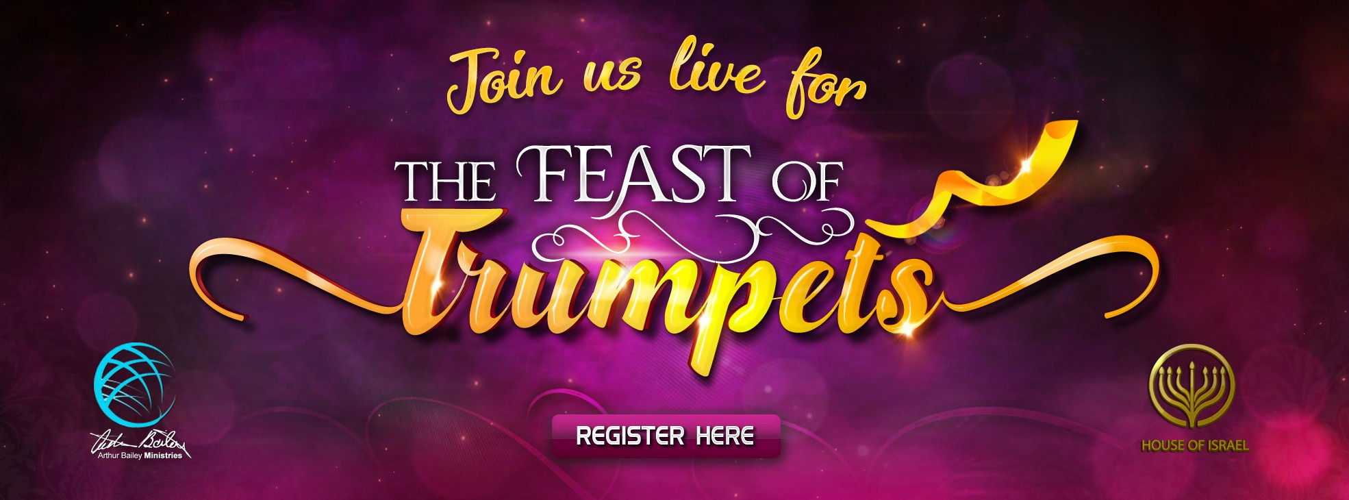 Feast of Trumpets 2019 Registration - Arthur Bailey Ministries